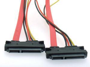 Dark SATA - Data Power 10cm Ara Kablosu (Dişi-Dişi)
