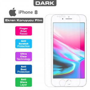 Dark iPhone 8 Uyumlu Anti Glare Ekran Koruyucu