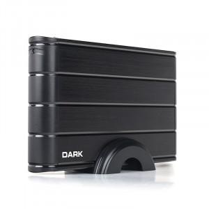 """Dark Storex E30 3.5"""" USB 3.0 Alüminyum SATA Disk Kutusu (Adaptör Dahil)"""