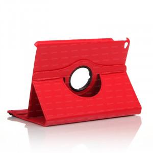 Dark iPad Air 2 360 Hareketli Kırmızı Deri Kılıf
