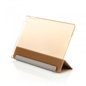 Dark iPad Air 2 Smart Cover ve Deri Kılıf (Altın)