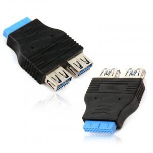 Dark 2x USB3.0 Port - 19Pin Anakart Bağlantı Dönüştürücü Adaptör