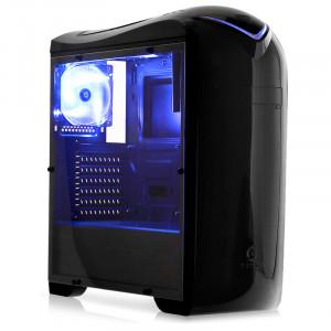 DARK G-Storm 3 Fanlı, 1x USB3.0, 2x USB2.0, Full Akrilik Yan Panel, ATX Oyuncu Kasası (DKCHGSTORM)