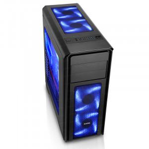 DARK N10 USB 3.0, 5x12cm Fan, Fan Kontrolcülü, Pencereli ATX  Kasa