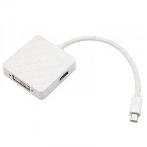 Dark Mini Display Port - Display Port/HDMI/DVI Üçlü Dönüştürücü