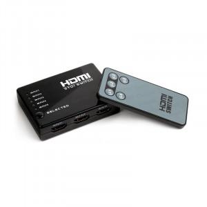 Dark Full HD 4 Giriş 1 Çıkışlı Uzaktan Kumandalı HDMI Switch (Seçici)