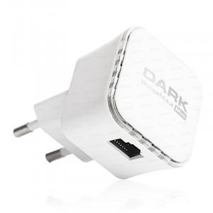 Dark RangeMAX WRT360 300Mbit 2x3dBi Dahili Antenli 802.11n WiFi Mini Repeater - Adaptörsüz Tasarım
