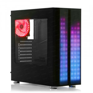 DARK Equalizer 3x 12cm Fan, Multi LED Ön Panel, USB3.0 Pencereli Mid Tower (ATX) Özel Tasarım Kasa