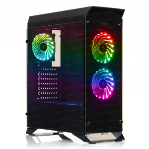 DARK R20 USB 3.0, 3x12cm RGB Fan, Fan Kontrolcülü, Pencereli ATX  Kasa