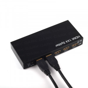 Dark 4K UltraHD 1 Giriş 4 Çıkışlı HDMI Splitter (Sinyal Çoğaltıcı)