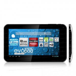 "Dark EvoPad R7012 7"", 8GB, ""Ölü Piksel Garantili""  HDMI Çıkışlı, Android 4.1 Taşınabilir Tablet Bilgisayar"