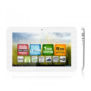 "Dark EvoPad V1022 10.1"" Çift Çekirdekli 1GB RAM 8GB HD Ekranlı And 4.2 Taşınabilir Tablet Bilgisayar"