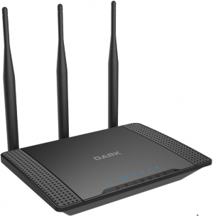 Dark RangeMAX WRT450 802.11n WiFi 450Mbit 3x5dBi Antenli Kablosuz Router / Access Point / Repeater (3T/3R)