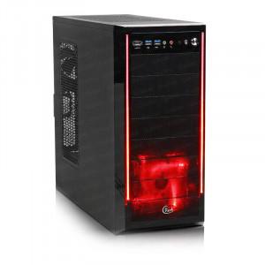 Dark Orion Kırmızı Led Fanlı USB 3.0 ve eSATA Destekli Oyuncu Kasası