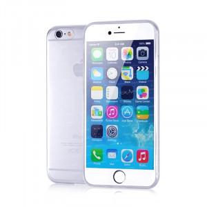 Dark iPhone 6S 0,5mm Ultra İnce Şeffaf Görünmez Kılıf