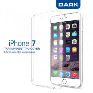 Dark iPhone 7 0,5mm Ultra İnce Şeffaf Görünmez Kılıf