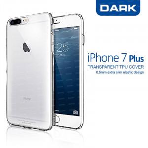 Dark iPhone 7 Plus 0,5mm Ultra İnce Şeffaf Görünmez Kılıf