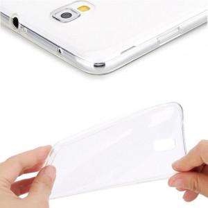 Dark Samsung Galaxy Note 4 0,5mm Ultra İnce Şeffaf Görünmez Kılıf