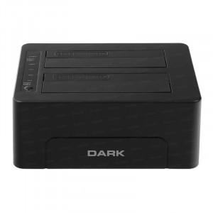 """Dark StoreX DSD26C Çiftli 3.5""""/2.5"""" USB3.0 SATA Offline ile Klon Destekli Bilgisayar Bağımsız Disk İstasyonu"""