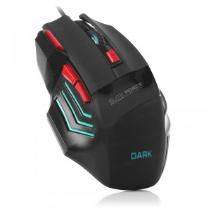 Dark Elite Force 3X Ateş Butonlu DPI Ayarlanabilir Aydınlatmalı USB Oyuncu Mouse