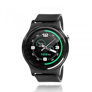 Dark SW08 Smart Design Android ve IOS Uyumlu Akıllı Saat (Siyah Metal Kayış)