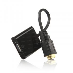 Dark DVI-D -VGA Aktif Dönüştürücü Kablo (DVI-D Erkek - VGA Dişi)