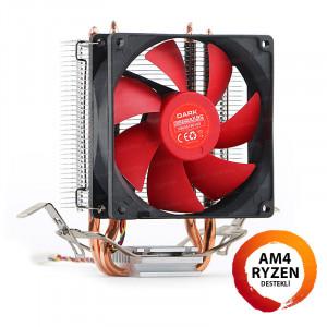 Dark Freezer X90 Intel 775/1156/1155/1150/1151 FM1/FM2/AM2+/AM3+ /AM4 Ryzen Uyumlu işlemci Soğutucu