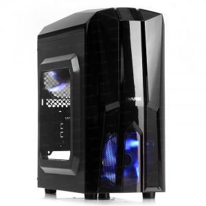DARK F50 2x Mavi LED Fan USB3.0 Pencereli M-ATX Kasa