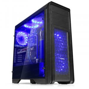 DARK N10 PRO USB 3.0, 5x12cm Fan, Fan Kontrolcülü, Temperli Yan Cam Panel ATX  Kasa