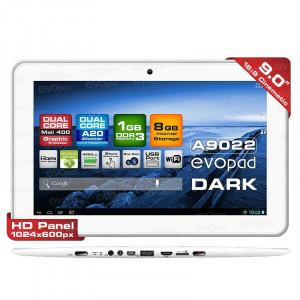 "Dark EvoPad A9022 9"" Çift Çekirdekli İşlemci, 1GB RAM, 8GB Android 4.2 Taşınabilir Tablet Bilgisayar"