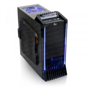 Dark Raptor USB 3.0, eSATA, 3 x  Fanlı Gelişmiş ATX Oyuncu Kasası