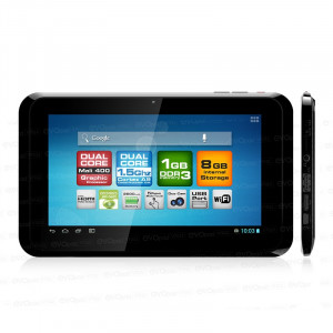 "Dark EvoPad V7022 7"" Çift Çekirdekli 1GB RAM 8GB ""Ölü Piksel Garantili"" HD Ekranlı Android 4.2 Taşınabilir Tablet Bilgisayar"