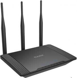 Dark RangeMAX WRT450 802.11n WiFi 450Mbit 3x5dBi Antenli Kablosuz Router / Access Point / Repeater (3T/3R)