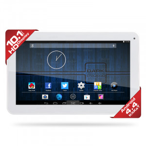 "Dark Evopad C1044 10.1"" Dört Çekirdekli 1GB/8GB DDR3 HDMI Android 4.4.2 KitKat Beyaz Tablet Bilgisayar"