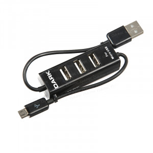 Dark Connect Master U23 Micro 3 Port  USB 2.0 Usb Hub