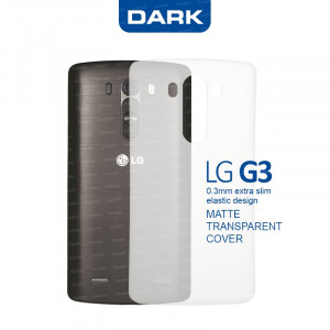 Dark LG G3 0,3mm Ultra İnce Mat Kılıf