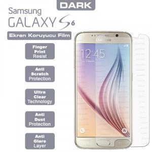 Dark Samsung Galaxy S6 Yansıma Engelleyici Ekran Filmi