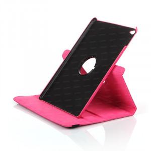 Dark iPad Air 2 360 Hareketli Pembe Deri Kılıf