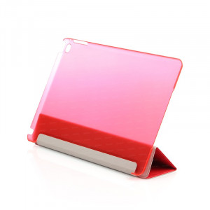 Dark iPad Air 2 Smart Cover ve Deri Kılıf (Kırmızı)