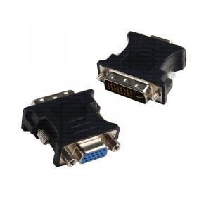 Dark DVI-VGA Dönüştürücü (DVI-I Erkek - VGA Dişi)