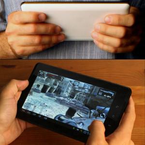"Dark EvoPad R7000 7"" Kapasitif 5 Nokta Dokunmatik Ekran 512MB 4GB Android 4.0 Taşınabilir Tablet Bilgisayar"