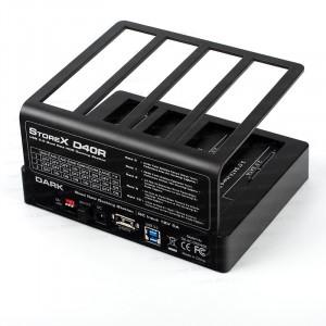 "Dark StoreX.D40R 4 x 3.5""/2.5"" USB 3.0  SATA  RAID Disk İstasyonu"