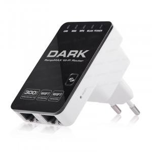 Dark RangeMAX WRT340 300Mbit 802.11n WiFi Kablosuz Router / Repeater / Access Point - Adaptörsüz Tasarım