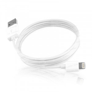 Dark 1m iPhone5, iPod Lightning 8pin Uyumlu USB Şarj ve Senkronizasyon Kablosu (Beyaz)