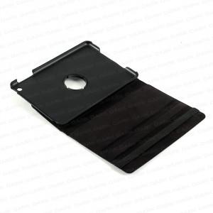 Dark i-Flip Mini 360 Derece Hareketli Yatay / Dikey 3 Kademeli iPad Mini Stand veDeri Kılıf