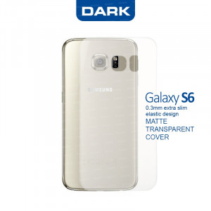 Dark Samsung Galaxy S6 0,3mm Ultra İnce Mat Kılıf