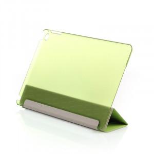Dark iPad Air 2 Smart Cover ve Deri Kılıf (Yeşil)