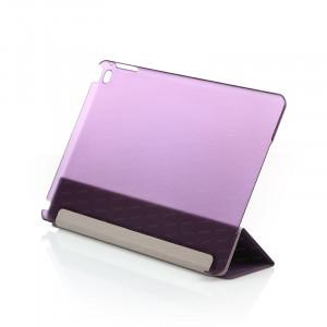 Dark iPad Air 2 Smart Cover ve Deri Kılıf (Mor)