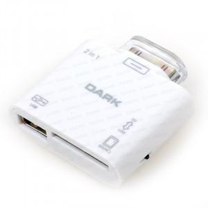 Dark iPad / 2 / 3  Kart Okuyucu ve USB Kamera ve Klavye Bağlantı Kiti