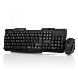 Dark Multimedia Butonlu Türkçe Q Kablosuz Klavye & Mouse Set